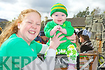 Diane and Caoimhe O'Sullivan Arbutus Grove Killarney enjoying her first Killarney St Patrick's day parade on Saturday Judy Rezin, Andrea Thornton, Brid Mills and Betty Rohan ..