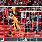 08.05.2018 Aberdeen v Rangers: Jak Alnwick saves