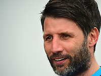 Lincoln City manager Danny Cowley <br /> <br /> Photographer Andrew Vaughan/CameraSport<br /> <br /> Buildbase FA Trophy Semi Final Second Leg - Lincoln City v York City - Saturday 18th March 2017 - Sincil Bank - Lincoln<br />  <br /> World Copyright &copy; 2017 CameraSport. All rights reserved. 43 Linden Ave. Countesthorpe. Leicester. England. LE8 5PG - Tel: +44 (0) 116 277 4147 - admin@camerasport.com - www.camerasport.com