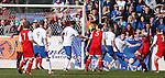 Brian Allison scores for Stirling Albion