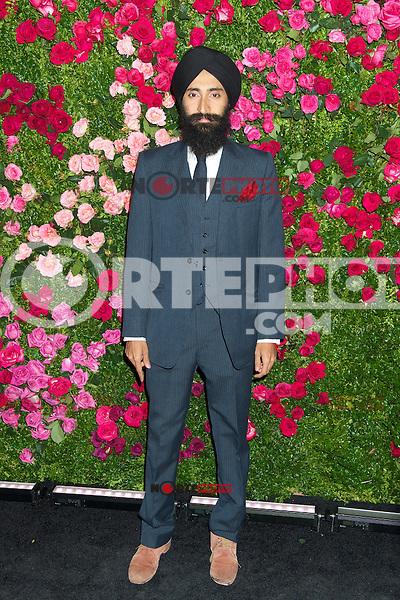 NEW YORK, NY - APRIL 24: Waris Ahluwalia asiste a la &quot;Cena del Artista Chanel&quot; durante el Festival de Cine Tribeca 2012 en el Odeon el 24 de abril de 2012 en Nueva York.<br />  (**Foto/mpi44/Mediapunch/NortePhoto.com**)<br /> **SOLO*VENTA*EN*MEXICO