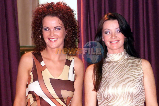 Models at the Scoil Mhuire na Trocaire Fashion Show in the Bohemian Centre, Ardee..Picture: Paul Mohan/Newsfile