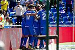 Getafe CF's team celebrate goal during La Liga match. May 05,2019. (ALTERPHOTOS/Alconada)
