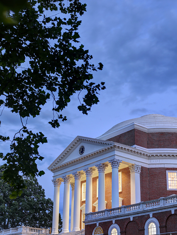 Newly renovated Rotunda at the University of Virginia in Charlottesville, Va. Photo/Andrew Shurtleff