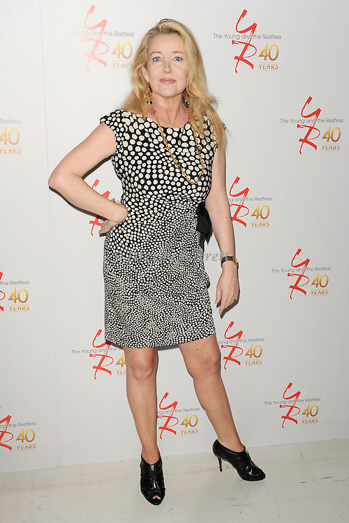 "Melody Thomas Scott at the 40th Anniversary of ""The Young and The Restless"" celebrations held at CBS Television City in Los Angeles, CA. March 26, 2013."
