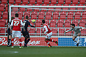 Mark Bradley of Rotherham scores their first goal. Rotherham United v Stevenage - FA Cup 1st Round - New York Stadium, Rotherham - 3rd November 2012. © Kevin Coleman 2012.