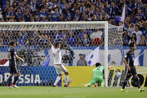 Shusaku Nishikawa, SEPTEMBER 1, 2016 - Football / Soccer :<br /> FIFA World Cup Russia 2018 Asian Qualifier<br /> Final Round Group B<br /> between Japan - United Arab Emirates<br /> at Saitama Stadium 2002, Saitama, Japan.<br /> (Photo by Yusuke Nakanishi/AFLO SPORT)