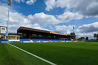 General view of the ground ahead of AFC Wimbledon vs Scunthorpe United, Sky Bet EFL League 1 Football at the Cherry Red Records Stadium on 15th September 2018