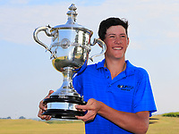 Christo Lamprecht (RSA) winner of the East of Ireland Amateur Open Championship 2018 at Co. Louth Golf Club, Baltray, Co. Louth on Monday 4th June 2018.<br /> Picture:  Thos Caffrey / Golffile<br /> <br /> All photo usage must carry mandatory copyright credit (&copy; Golffile | Thos Caffrey)