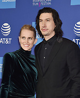 PALM SPRINGS, CA - JANUARY 03: Joanne Tucker (L) and Adam Driver attend the 30th Annual Palm Springs International Film Festival Film Awards Gala at Palm Springs Convention Center on January 3, 2019 in Palm Springs, California.PALM SPRINGS, CA - JANUARY 03: Joanne Tucker (L) and Adam Driver attend the 30th Annual Palm Springs International Film Festival Film Awards Gala at Palm Springs Convention Center on January 3, 2019 in Palm Springs, California.<br /> CAP/ROT/TM<br /> &copy;TM/ROT/Capital Pictures