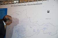 SAO PAULO. SP. 15 DE MARÇO DE 2013. ANUNCIO DA PPP DOS PISCINOES. O governador de São Paulo, Geraldo Alckmin, durante o anúncio da publicação do edital de licitação da Parceria Público Privada – PPP para implantação, manutenção e operação da rede de piscinões da Região Metropolitana de São Paulo. FOTO ADRIANA SPACA/BRAZIL PHOTO PRESS
