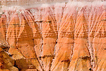 Bryce Canyon National Park, closeup, Rock formations, hoodoos of Silent City in Ampitheater, erosion, arid, Utah, UT, Southwest America, American Southwest, US, United States, Image ut361-18872, Photo copyright: Lee Foster, www.fostertravel.com, lee@fostertravel.com, 510-549-2202