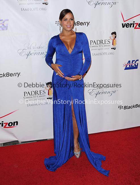Dania Ramirez  attends 13th Annual El Sueño de Esperanza Gala at Club Nokia in Los Angeles, California on September 24,2013                                                                               © 2013 Hollywood Press Agency