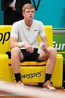 British Kyle Edmund during Mutua Madrid Open 2018 at Caja Magica in Madrid, Spain. May 11, 2018. (ALTERPHOTOS/Borja B.Hojas) /NORTEPHOTOMEXICO