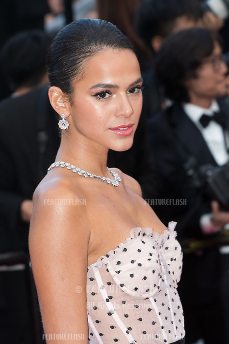 CANNES, FRANCE - MAY 13: Bruna Marquezine attends the screening of 'Sink Or Swim (Le Grand Bain)' during the 71st annual Cannes Film Festival at Palais des Festivals on May 13, 2018 in Cannes, France.<br /> Picture: Kristina Afanasyeva/Featureflash/SilverHub 0208 004 5359 sales@silverhubmedia.com