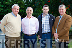 Tony Horgan, John Joe Culloty, Tim Horgan and Michael O'Donovan  at the official opening of the Two Mile Community NS on Wednesday