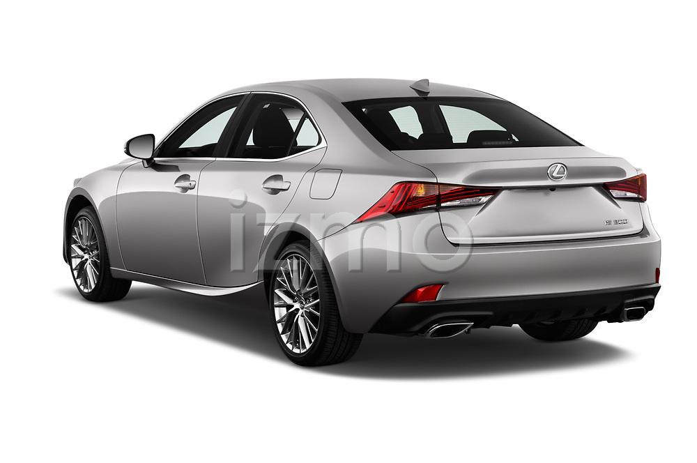 Car pictures of rear three quarter view of a 2018 Lexus IS 300 4 Door Sedan angular rear