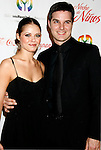 "BEVERLY HILLS, CA. - May 09: Anna Trebunskaya nad Jonathan Roberts arrive at the 3rd Annual ""Noche de Ninos"" Gala at the Beverly Hilton Hotel on May 9, 2009 in Beverly Hills, California."