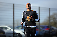 2016 01 28 Swansea City FC training, Fairwood, Swansea, UK