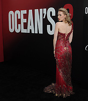 NEW YORK, NY - June 5: Charlotte Kirke ttends 'Ocean's 8' World Premiere at Alice Tully Hall on June 5, 2018 in New York City. <br /> CAP/MPI/JP<br /> &copy;JP/MPI/Capital Pictures