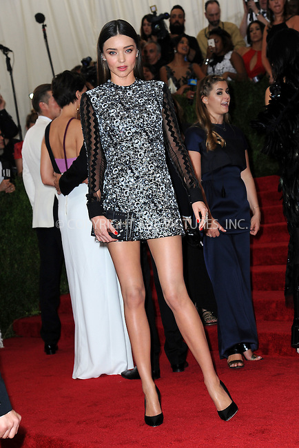 WWW.ACEPIXS.COM<br /> May 4, 2015...New York City<br /> <br /> Miranda Kerr attending the Costume Institute Benefit Gala  celebrating the opening of China: Through the Looking Glass at The Metropolitan Museum of Art on May 4, 2015 in New York City.<br /> <br /> Please byline: Kristin Callahan<br /> ACEPIXS.COM<br /> Tel# 646 769 0430<br /> e-mail: info@acepixs.com<br /> web: http://www.acepixs.com