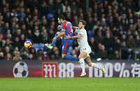 Crystal Palace's Luka Milivojevic and Burnley's Jeff Hendrick<br /> <br /> Photographer Rob Newell/CameraSport<br /> <br /> The Premier League - Saturday 1st December 2018 - Crystal Palace v Burnley - Selhurst Park - London<br /> <br /> World Copyright &copy; 2018 CameraSport. All rights reserved. 43 Linden Ave. Countesthorpe. Leicester. England. LE8 5PG - Tel: +44 (0) 116 277 4147 - admin@camerasport.com - www.camerasport.com