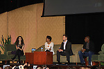 """- A Tribute to Pine Valley - All My Children's Alicia Minshew """"Kendall"""", Darnell Williams """"Jesse"""", Debbi Morgan """"Angie"""" and Jacob Young """"ex JR and """"Rick Forrester"""" on The Bold and the Beautiful with fans for Q&A, autographs, photos on February 17, 2013 at Valley Forge Casino Resort in King of Prussia, PA. on February 16, 2013 with fans for Q&A, autographs, photos on February 17, 2013 at Valley Forge Casino Resort in King of Prussia, PA. (Photo by Sue Coflin/Max Photos)"""