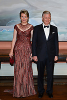 King Philippe & Queen Mathilde on a State Visit to Canada, attend the State Banquet - Ottawa