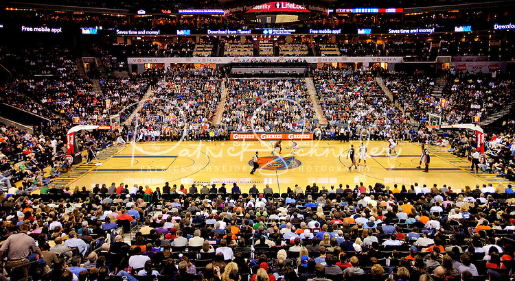 The Charlotte Bobcats vs. The Miami Heat at Time Warner Arena in Charlotte, North Carolina...Photo by: PatrickSchneiderPhoto.com