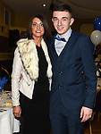 Jane and Sam Mulroy pictured at Naomh Mairtin Annual Reunion Dinner Dance in the Grove House Dunleer. Photo:Colin Bell/pressphotos.ie