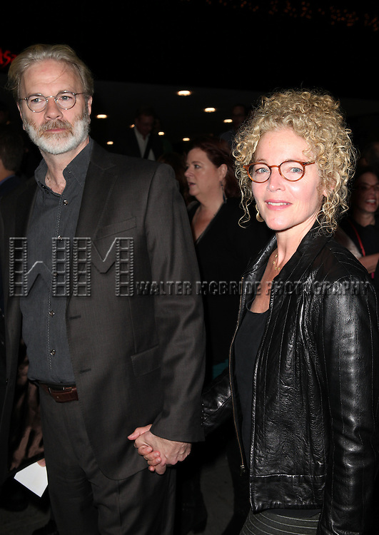 Amy Irving & husband Ken Bowser attending the Opening Night Performance of the Roundabout Theatre Production of  'If There Is I Haven't Found It Yet' at the Laura Pels Theatre in New York City on 9/20/2012.