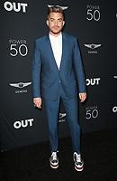 10 August 2017 - Los Angeles, California - Adam Lambert. OUT Magazine's Inaugural POWER 50 Gala & Awards Presentation. Photo Credit: F. Sadou/AdMedia