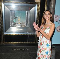 Alexa Chung at the Tiffany &amp; Co Christmas 2017 windows unveiling, Tiffany &amp; Co, Old Bond Street, London, England, UK, on Monday 06 November 2017.<br /> CAP/CAN<br /> &copy;CAN/Capital Pictures