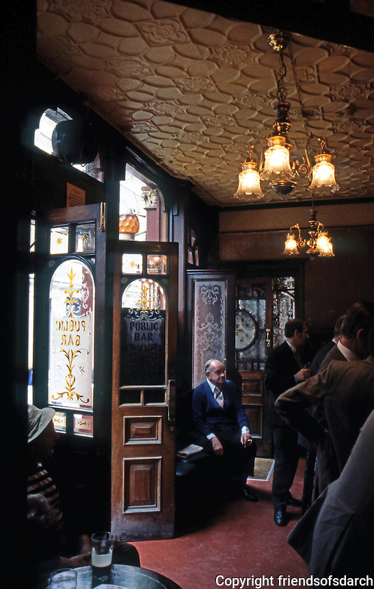 London: The Red Lion--Public Bar.