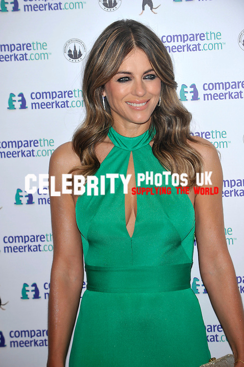 ELIZABETH HURLEY AT A COMPARETHEMEERKAT.COM SPY THEMED LAUNCH EVENT FOR SECRET AGENT MAIYA. A SPECIAL EDITION AGENT MAIYA TOY IS NOW AVAILABLE AT COMPARETHEMARKET.COM