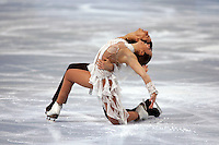 November 19, 2005; Paris, France; Figure skating stars FEDERICA FAIELLA and MASSIMO SCALI of Italy skate to bronze in ice dancing at Trophee Eric Bompard, ISU Paris Grand Prix competition.  They are one of the favorites for medals in ice dancing leading up to Torino 2006 Olympics.<br />