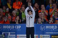 SCHAATSEN: HEERENVEEN: 07-03-2020, IJsstadion Thialf, ISU World Cup Final, Final Podium 1000m Ladies, Nao Kodaira (JPN), ©foto Martin de Jong