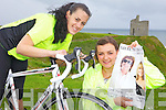 FUNDRAISING: Asdee friends Michelle Tydings and Niamh Griffin who are holding a fundraiser this weekend to help them on their way with the Ring of Kerry Cycle.