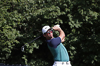 Paul Casey (ENG) tees off on the 9th hole during the first round of the 100th PGA Championship at Bellerive Country Club, St. Louis, Missouri, USA. 8/9/2018.<br /> Picture: Golffile.ie | Brian Spurlock<br /> <br /> All photo usage must carry mandatory copyright credit (© Golffile | Brian Spurlock)