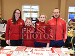 Jenny Dunne, Holly Jordan, Aime and Alan Gregory from St. Nicholas LGFA at the Cottage Market 3rd birthday in St. Peter's Parish Hall. Photo:Colin Bell/pressphotos.ie