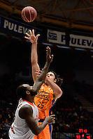 Loncar vs Akindele<br /> Liga Endesa ACB - 2014/15<br /> J17<br /> Valencia Basket vs Montakit Fuenlabrada