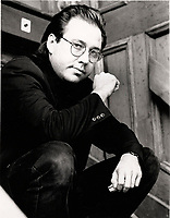 Montreal (QC) CANADA- 1997 file photo -Bill Hicks pose for an exclusive photo during Just For Laugh Festival 1991