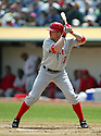 Darin Erstad, of the Los Angeles Angels , during their game against the Oakland A's  on April 23, 2006 in Oakland...A's win 4-3..Rob Holt / SportPics