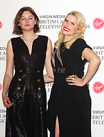 Paloma Faith and Emma Corrin at the Virgin Media BAFTA Television Awards 2019 - Press Room at The Royal Festival Hall, London on May 12th 2019<br /> CAP/ROS<br /> ©ROS/Capital Pictures