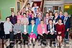 ICA members at their annual social in the Dromhall Hotel on Sunday afternoon front row l-r: Margaret Walsh Derryquay, Kay Healy, Bridie Cox, Mary Kennelly, Jane O'Connor all  Ballylongford, Ann O'Connor and Marie Barrett both Causeway. Second row: Maureen Donnellan Spa/Fenit, Marian Donoghue SpaFenit, Mary Margaret Spillane, Derryquay, Eileen Donovan and Noreen Kennelly both Ballylongford, Siobhain Barry Causeway, Joan Ashe Causeway. Third row: Eileen Mulvihill, Noreen McEvoy both Moyvane, Marie O'Sullivan causeway, Ide Barrett Causeway, Ann Ferris Spa Fenit. Forth row: Josephine Deenihan, Deirdre O'Brien and deirdre Finnucane all Ballylongford, Colette Dalton spa fenit and Nuala O'Connor Derryquay