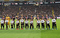 Eintracht Frankfurt stellt sich auf - 29.08.2019: Eintracht Frankfurt vs. Racing Straßburg, UEFA Europa League, Qualifikation, Commerzbank Arena<br /> DISCLAIMER: DFL regulations prohibit any use of photographs as image sequences and/or quasi-video.
