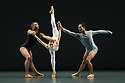 "London, UK. 29.10.2014. ""THOMAS ADES: See The Music, Hear the Dance"" opens at Sadler's Wells. Picture shows: ""Outlier"", choreographed by Wayne McGregor and performed by nine dancers from WayneMcGregor