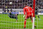 Nederland, Amsterdam, 3 oktober  2012.Seizoen 2012-2013.Champions League.Ajax_Real Madrid.Karim Benzema van Real Madrid scoort met een omhaal de 0-2