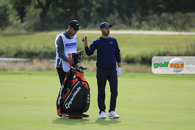 Jack Singh Brar (ENG) during the second round of the Porsche European Open , Green Eagle Golf Club, Hamburg, Germany. 06/09/2019<br /> Picture: Golffile | Phil Inglis<br /> <br /> <br /> All photo usage must carry mandatory copyright credit (© Golffile | Phil Inglis)