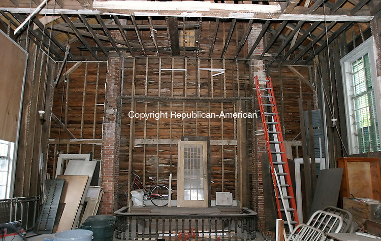 SOUTHBURY, CT, 18 July 2006- 071806BZ09- The interior of the old Methodist Church in the South Britain section of Southbury.  The building has been bought and the new owners are considering renovating the property.<br /> Jamison C. Bazinet Republican-American